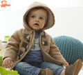 Baby Boys Jacket 2016 New Winter Clothes Bebek Giyim Outerwear Coat Cotton Jackets For Babies Children Clothing With Hooded