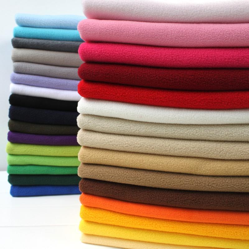 Polyester laine polaire Tissu Anti-pilling un-côté Polaire toile Tissu tissu fait main 60 Par La Cour Livraison gratuite