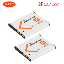 JHTC 2Pcs lot 900mAh NP BN1 Battery NPBN1 NP BN1 BN Batteries For SONY DSC TX9