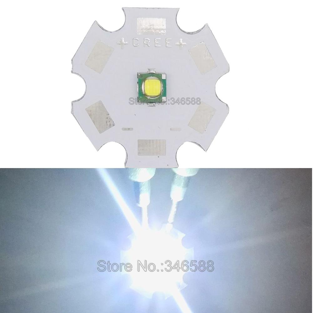 5PCS Cree XPE XLamp XP-E Blue 470-475NM 1W 3W LED Light Emitter w//16mm Round PCB