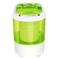 Автоматическая Мини-портативная электрическая стиральная машина для одежды с верхней загрузкой в общежитии для детей используется отдель...