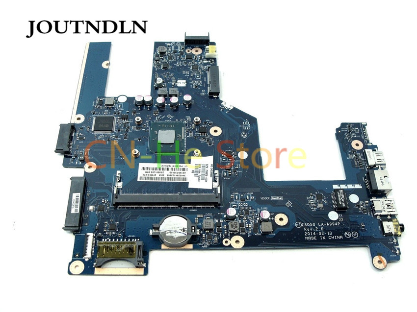 JOUTNDLN FOR HP 15-r Series <font><b>ZS050</b></font> Laptop motherboard 759878-501 <font><b>LA</b></font>-<font><b>A994P</b></font> W N3520 CPU 100% perfect work image