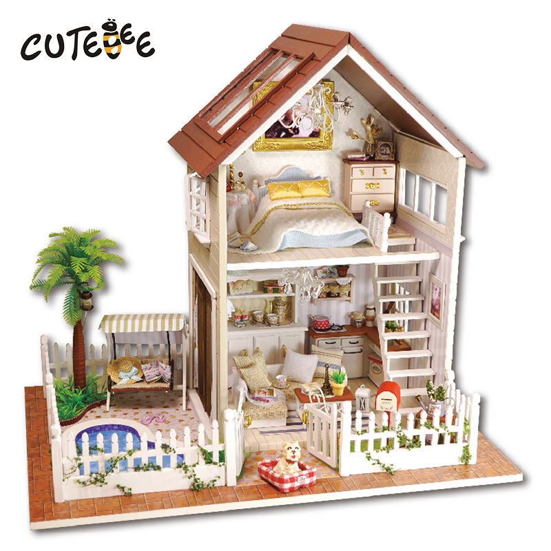 Doll house furniture miniatura diy doll houses miniature dollhouse wooden handmade toys for children birthday gift  A-025 handmade doll house furniture diy doll houses miniature dollhouse wooden toys for children grownups birthday gift