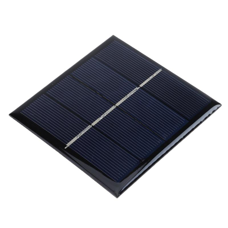 Portable 1W 2V Solar Power Battery Charger Panel for 2 1.2V AA Batteries System DIY Battery Cell Charger Module Energy Board