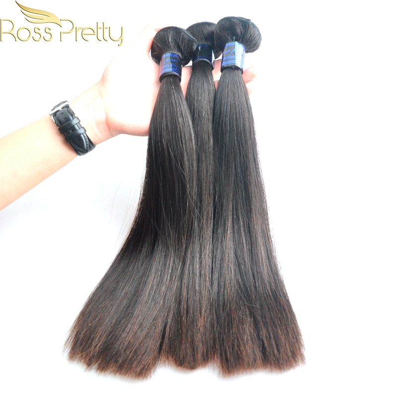 Peruvian Hair Weave Ross Pretty Brand Remy Hair 3pieces Original Human Hair Reasonable Price For Quality Hair Weaving