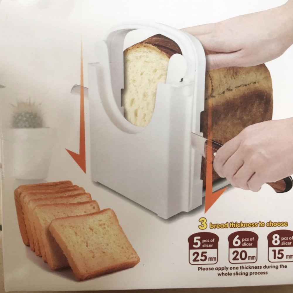 Home Kitchen Bread Slicing Tools Practical ABS For Bread Loaf Toast Sandwich Slicer Cutter Convenient Kitchen Cutting Tools bread toast crumbs