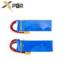 2pcs Batteria Cheerson CX-20 CX20 11.1V 2800mah 30C Li-po Battery For CX 20 RC Quadcopter Spare Parts Wholesale Free Shipping