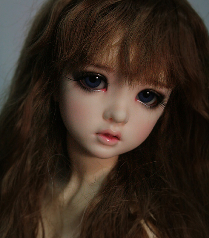1/4 scale nude BJD girl SD Joint doll Resin model toy gift