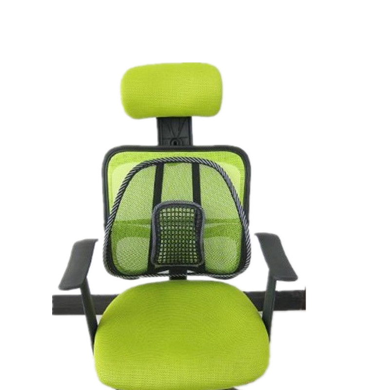 Back Massage Seat Chair Cushion Pillow Relax Stress Tension Relief Home Office