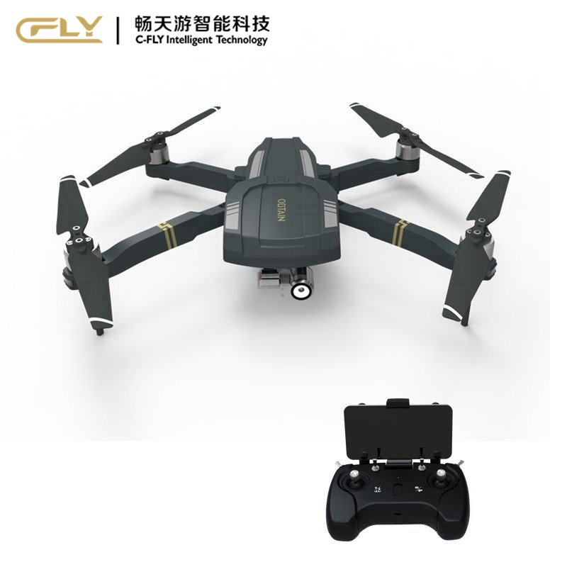 C-Fly Obtain GPS WIFI FPV With 3-Axis Gimbal 1080P HD Camera RC Quadcotper RTF VS VISUO XS809HW Hubsan H109S DJI Mavic Pro Spark yuneec typhoon h 5 8g fpv drone with realsense module cgo3 4k camera 3 axis gimbal 7 inch touchscreen rc hexacopter rtf