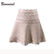 Новинка, Женская жаккардовая повязная юбка, Сексуальная мини-Повседневная повязная юбка