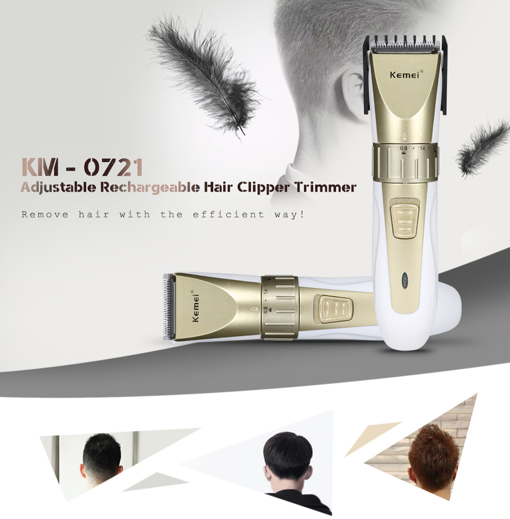 Kemei KM-0721 Adjustable Rechargeable 1
