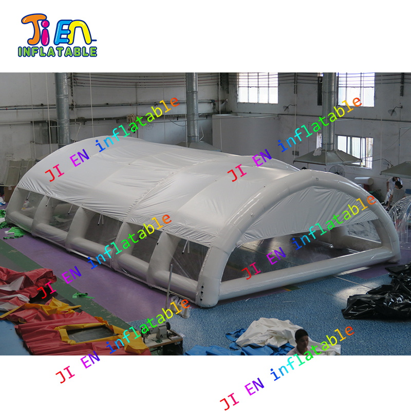 US $1785.0 |big inflatable tent cover for swimming pool air tight  inflatable shelter for outdoor swimmping pool-in Inflatable Bouncers from  Toys & ...