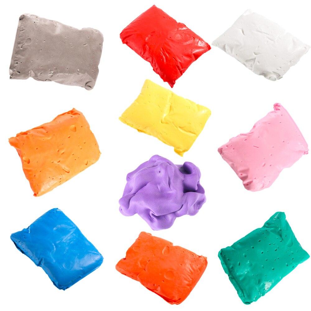 OCDAY Creative Infant Playdough Baby Kids Handprint Footprint Soft Clay Special Educational Baby DIY Air Drying Clays Toys Craft