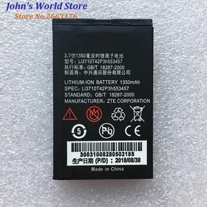 New Li3710T42P3h553457 1350mAh Original Rechargeable battery For ZTE S100 S189 C360 C361 N600 N606 C170 H520 V16 Mobile Phone