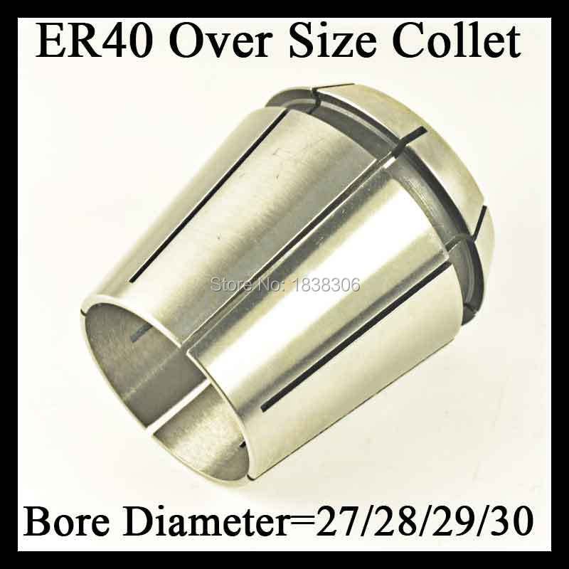 1pcs ER 40 ER40 over size Spring collet clamping tool drill chuck arbors for CNC milling lathe tool/milling cutter DIN 6499B free shipping domestic woodworking high power electric tool portable electric planer