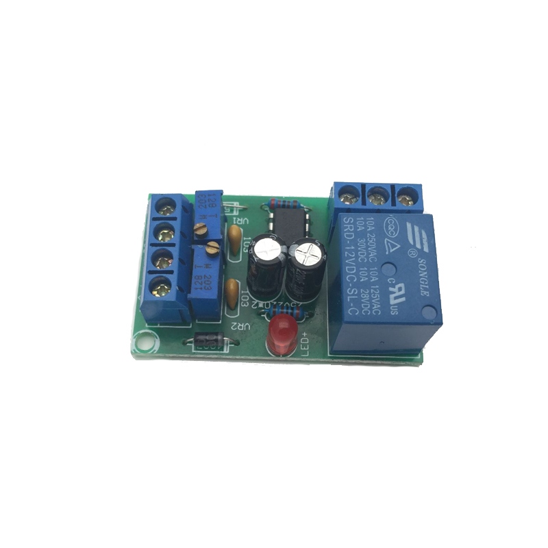 12V Battery Automatic Charging Controller Module Protection Board Relay Board xh m603 li ion lithium battery charging control module battery charging control protection switch automatic on off 12 24v
