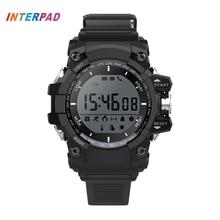 Últimas ip68 impermeable profesional hombres deporte smart watch para windows ios android teléfono con calorías podómetro smartwatch