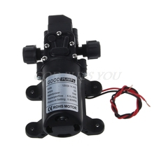 NEW DC 12V 130PSI 6L/Min Water High Pressure Diaphragm Self Priming Pump 70W 16epc t02 cxa l10l xad433sr tdk inverter high pressure plate 12v is new