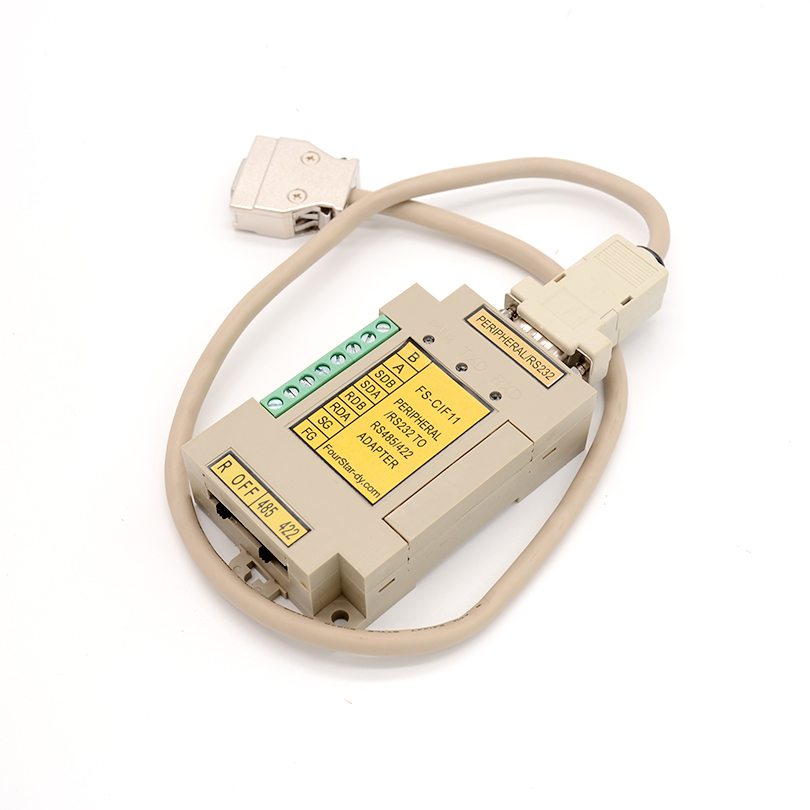 FOURSTAR OMRON CPM1-CIF11 / CIF12 compatible PLC peripheral port or RS232 to RS422 / 485 conversion module