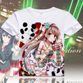 2017 Hombre Verano T-Shirt Anime Love Live T-shirtlovelive Kousaka Honoka Cosplay camiseta de La Manera Remata camisetas
