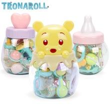 Купить с кэшбэком Baby Toys 0-12 Months Rattles oyuncak Mobiles Rattle Bed Children Speelgoed Educational Toy Bell Newborns Gift Beanbag For Girls
