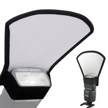 Universal Softbox Flash Bounce Reflector Diffuser Camera Accessories Silver White for Canon Nikon Photo Studio