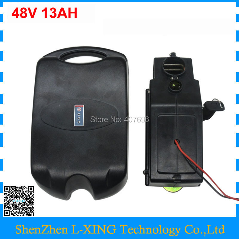 Free customs duty 48V Lithium battery 750W 48 V 13AH EBIKE battery 8Fun motor kits 20A