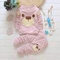 Baby boy clothes Spring Autumn kids clothes sets Long slevee shirt+pants set Bear Printed Clothes newborn sport suits