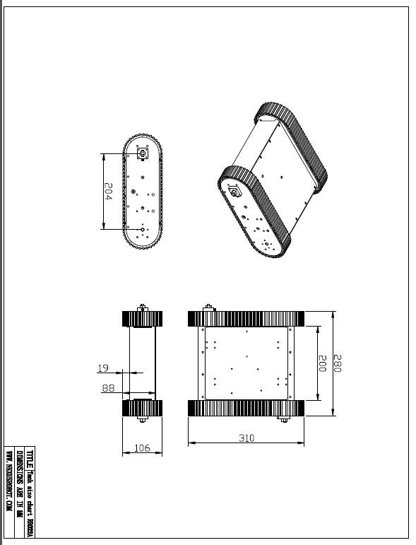 Yeni İzlənmiş Mobil Tank Robot Kit - Məktəb və tədris ləvazimatları - Fotoqrafiya 5