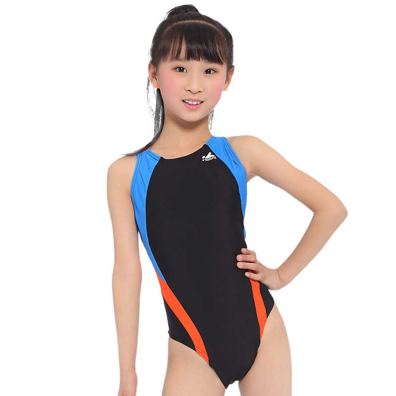 c156b3eadd706 Competition Arena Training Girls Swimwear One Piece Kids Swimsuits Baby  Swimming Clothes Children Bathing Suits 2018