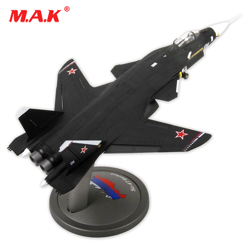 kids toys 1/72 Sukhoi Su-47 Type Firkin Supersonic Aircraft Fighter 1945 Diecast Alloy Toy Air Force Aircraft Model Collection brand new terebo 1 72 scale fighter model toys russia su 34 su34 flanker combat aircraft kids diecast metal plane model toy