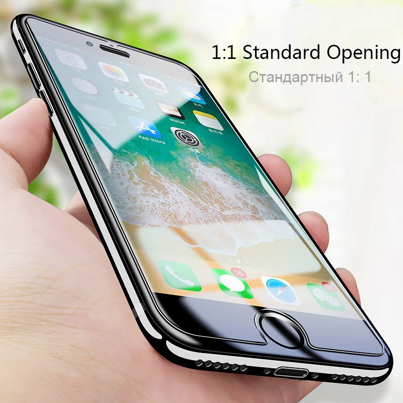 GerTong Glass For iphone 5 6 7 8 Plus X 10 Tempered Glass Screen Protector for iphone 5s SE Glass 9H 2.5D Tough Transparent Film