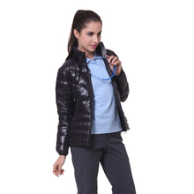 2020 New Arrival Women Ultra Light Down Jacket 90% White Duc