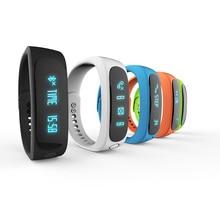 Ubit Smartband E02 Health fitness tracker Sport Bracelet Waterproof Wristband for IOS Android Smart watch Band 4.0 Bluetooth