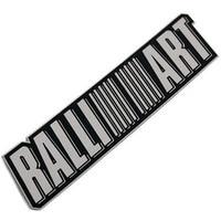 Stainless Alloy RALLIART Styling Sticker For Lancer Evolution 6 7 8 9 10 EX Emblem Badge