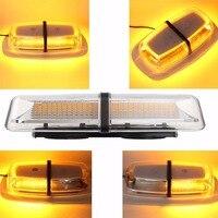 72 LED 5730 SMD Car Roof Flashing Strobe Emergency Light DC 12V 24V LED Truck Police Fireman Warning Lights Amber Whtie Blue