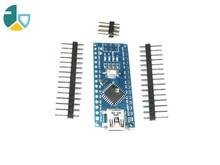 FJS-55 1PCS Promotion Funduino Nano 3.0 Atmega328 Controller Compatible Board for Arduino Module PCB Development Board withou