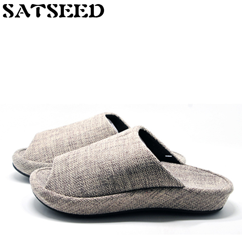 Fashion 2018 Spring Autumn Couples Home Slippers Indoor Slippers Waterproof Anti-skid Home Shoes Flat With Pure Color New vanled 2017 new fashion spring summer autumn 5 colors home plush slippers women indoor floor flat shoes free shipping