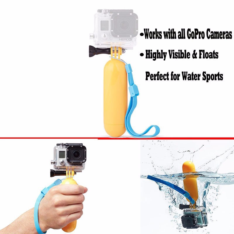 Image 4 - HOMEREALLY Gopro Accessory Monopod Head Chest Kit For Sony HDR AS20 AS30V AS100V Xiaoyi Gopro Hero 3/3+/4 Session SJ4000 M10 M20-in Tripods from Consumer Electronics