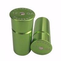 Tourbon Recycled Reusable Tactical Training Rounds 12 GA Shotgun Snap Cap 2 Pack Free Shipping