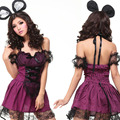Free shipping Cute cartoon Animation cat cosplay halloween constumes sexy Erotic SM sex toy Uniforms temptation dresses suit