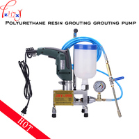 JBY 999 Micro electric injection pump epoxy polyurethane grouting machine crack plugging high pressure grouting machine 220V 1PC