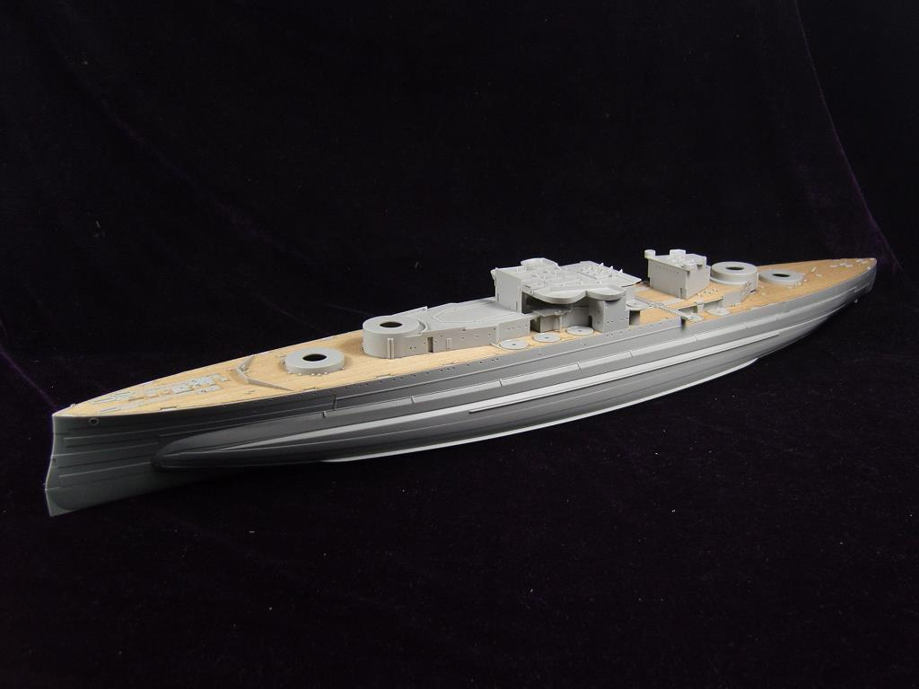 ARTWOX 05324 queen battleship Trumpeter 1943 deck AW10055 wooden ba904 academy wwii german artwox battleship bismarck wood deck aw10047