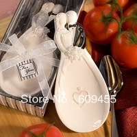 NEW ARRIVAL Bride Groom Candy Dish Ceramic Candy Dish Wedding Favors 100sets Lot FREE SHIPPING RWF