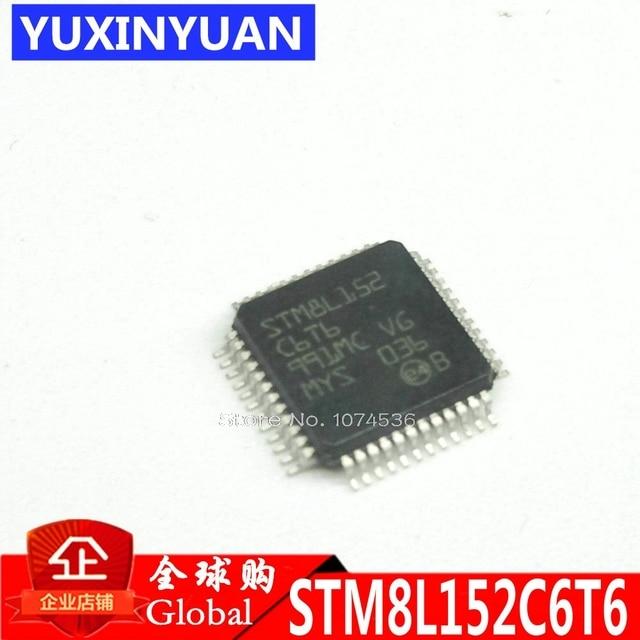STM8L152C6T6 STM8L152 LQFP48 8-bit IC MCU 8BIT 32KB FLASH 48LQFP 20pcs/lot