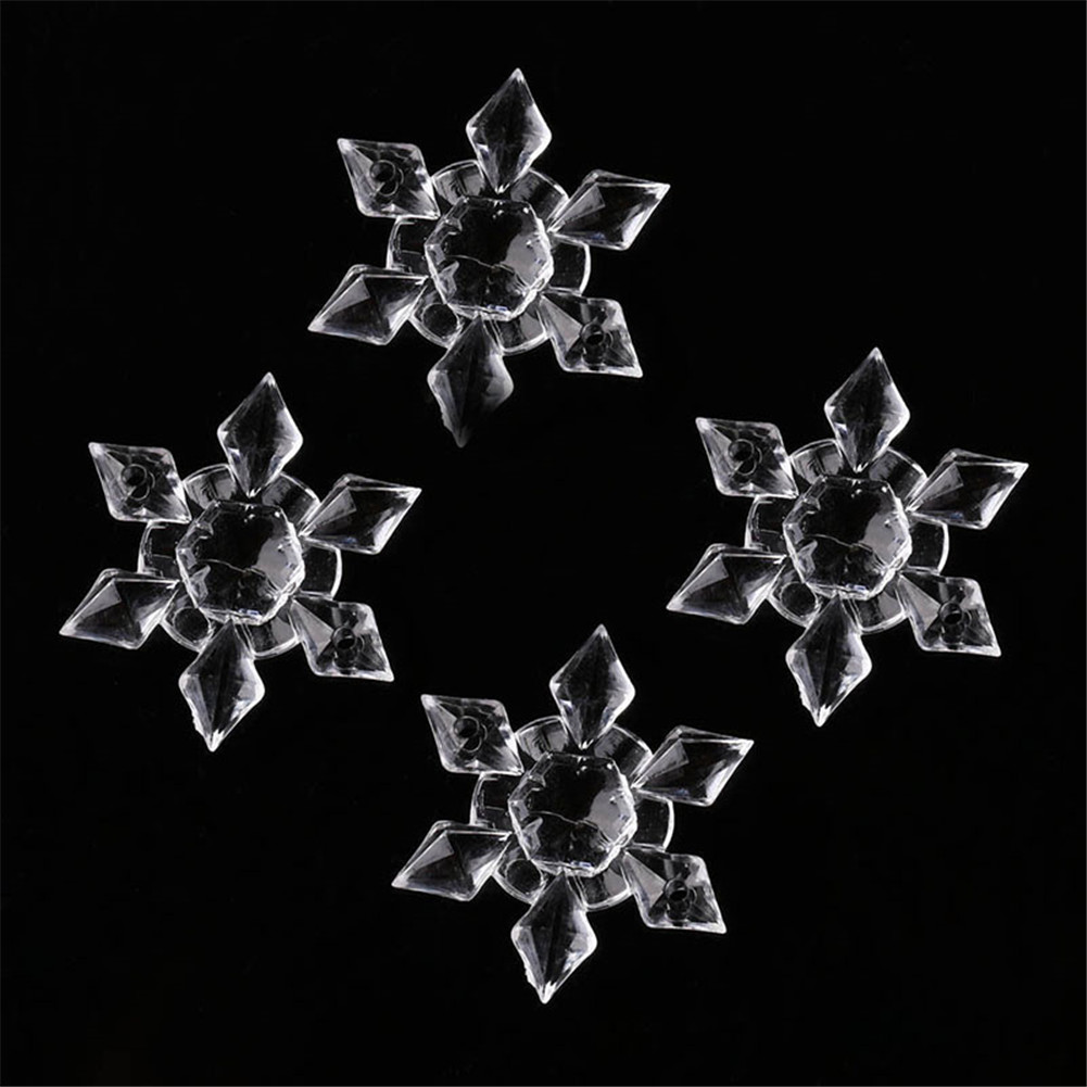 Christmas snowflake ornaments - New Arrival 20pcs Christmas Snowflakes Ornaments Festival Party Xmas Tree Hanging Decoration Snowflakes Ornaments Wn0880