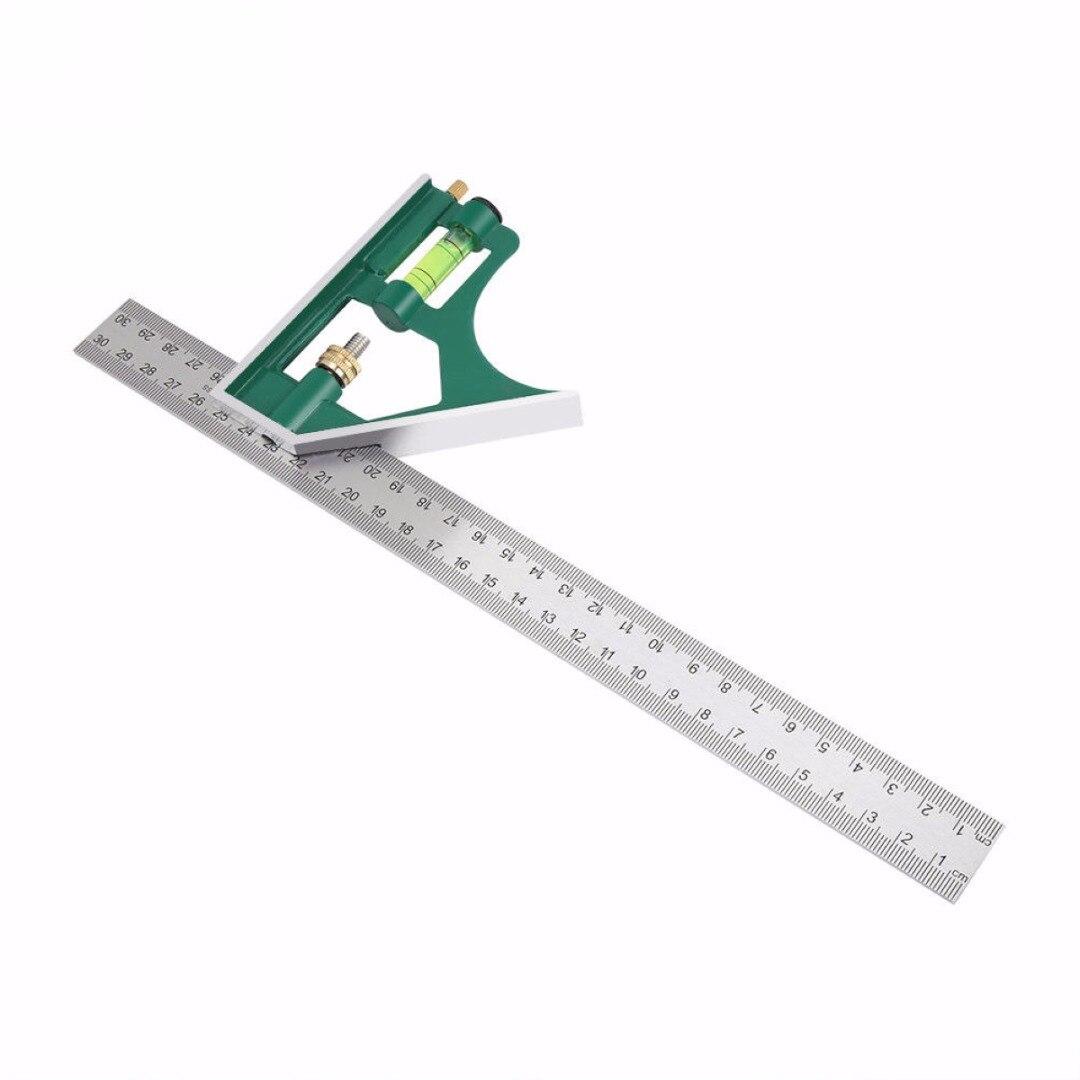 multi-funcational 300mm kombination platz winkelmesser 45/90 grad