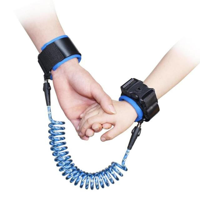 1.5/2/2.5M Baby Anti Lost Wrist Strap Rope Parent-child Outdoor Walking Hand Belt Kids Safety Anti-lost Wristband Toddler Leash 4