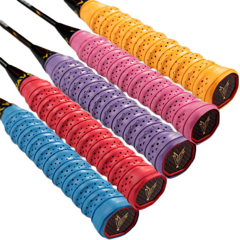 Anti-slip Tennis Overgrip Badminton Grip Over Sweat Band Sport Tape Sweatband Winding For Fishing Rod padel Racket Squash